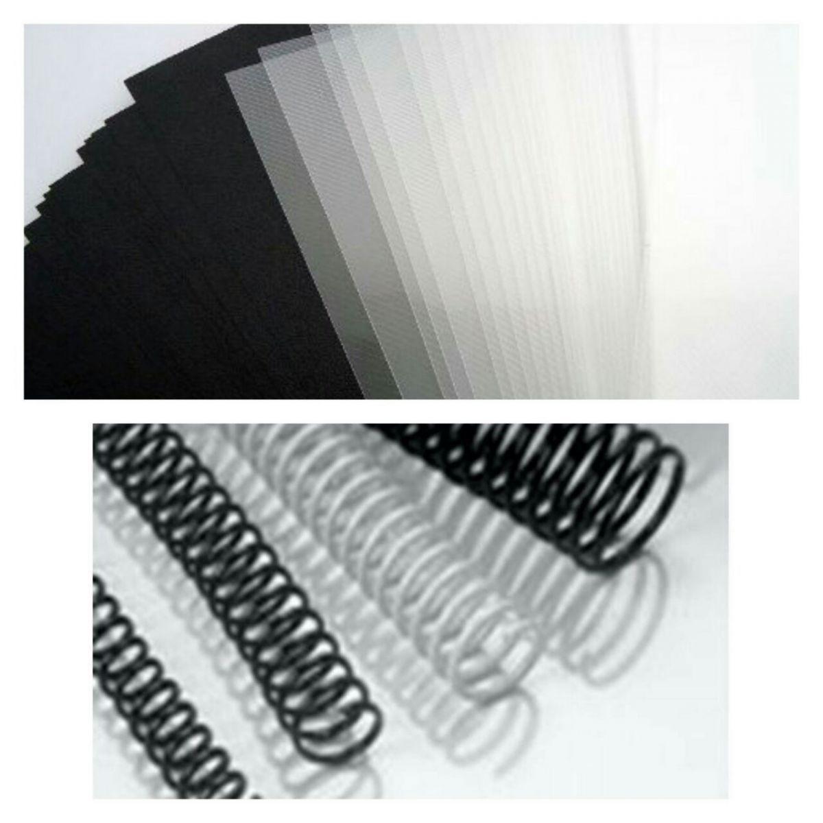 Kit Plastificadora Encadernadora Guilhotina e Todo Material Excentrix  - Click Suprimentos