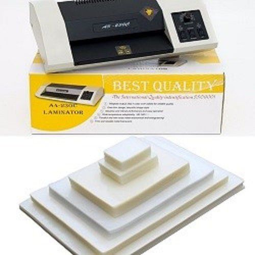 Kit Plastificadora Oficio A4-230C 110v + 400 Plásticos  - Click Suprimentos