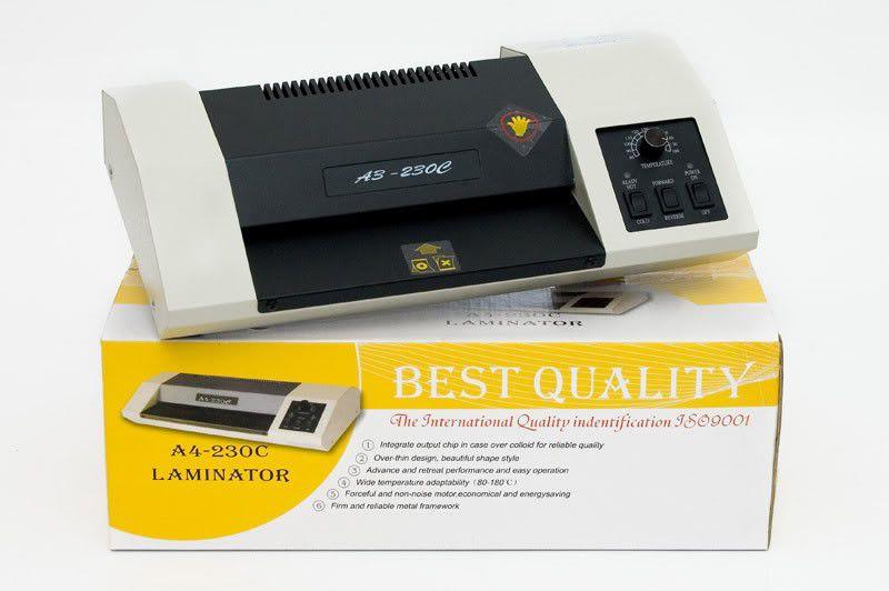 Kit Plastificadora Oficio A4-230c 110v + 600 Plásticos  - Click Suprimentos
