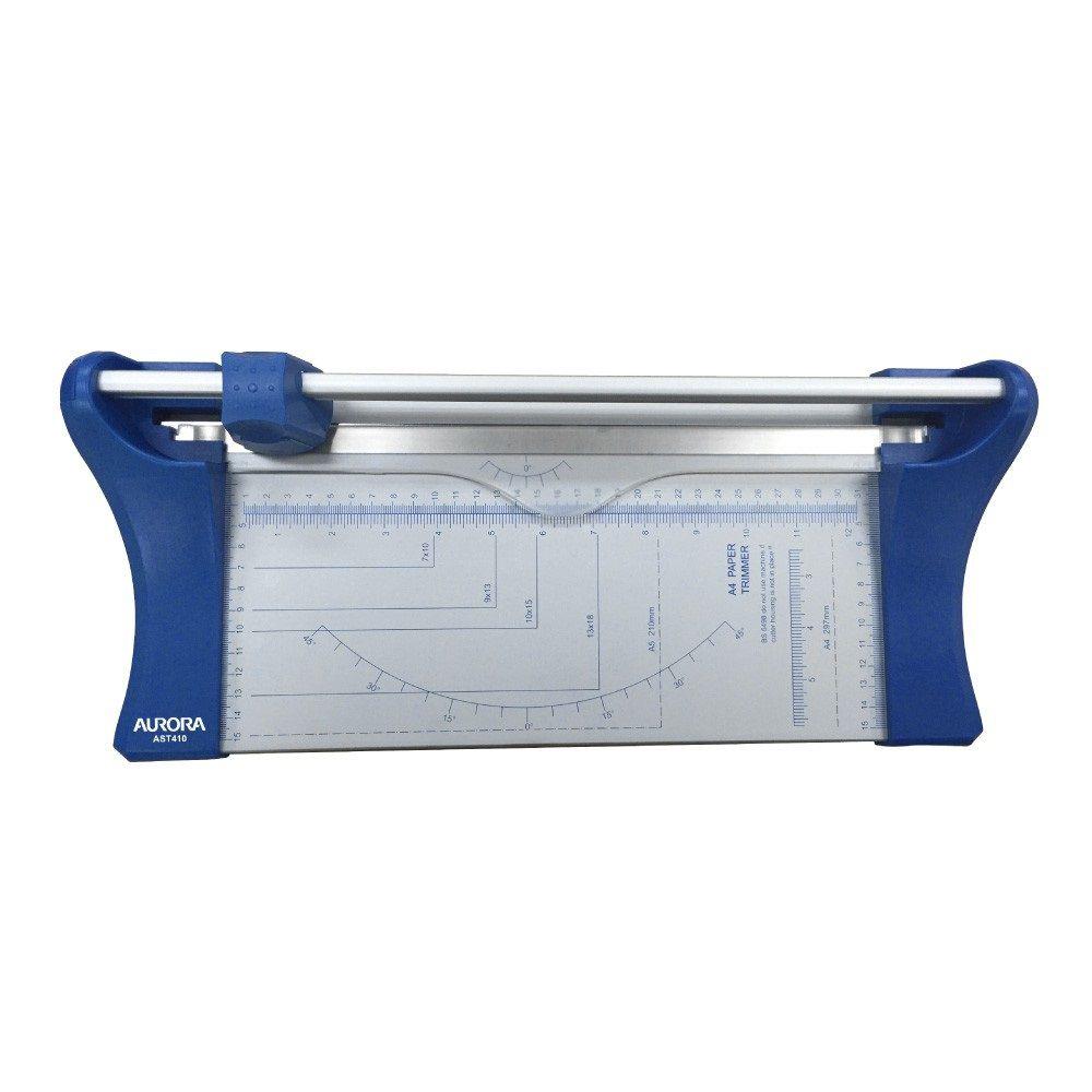 Kit Refiladora de Papel A4 Aurora AST410 + Lâmina de Corte  - Click Suprimentos