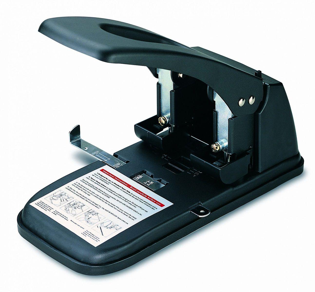 Perfurador de Papel 2 Furos 6mm até 100 Folhas KW-Trio 9380  - Click Suprimentos