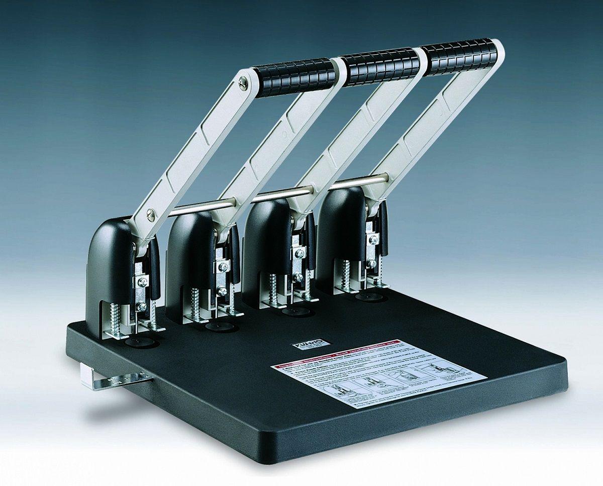 Perfurador de Papel 4 Furos 6mm até 150 Folhas Kw-trio 954  - Click Suprimentos