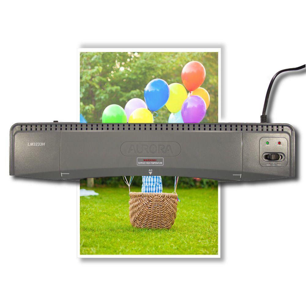 Plastificadora Laminadora A3 Aurora Lm3233h 220v  - Click Suprimentos