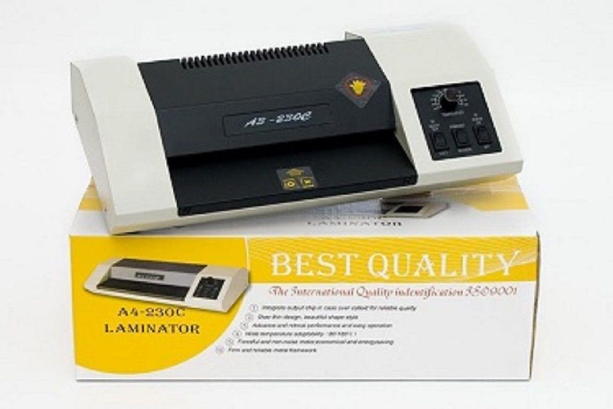 Plastificadora Laminadora Poliseladora Oficio A4-230C 110v  - Click Suprimentos