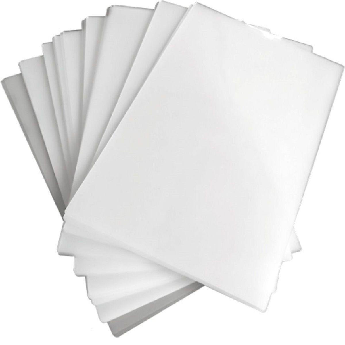 Polaseal para Plastificação A4 220x307x0,10mm (250 micras) - Pacote com 20 Plásticos  - Click Suprimentos