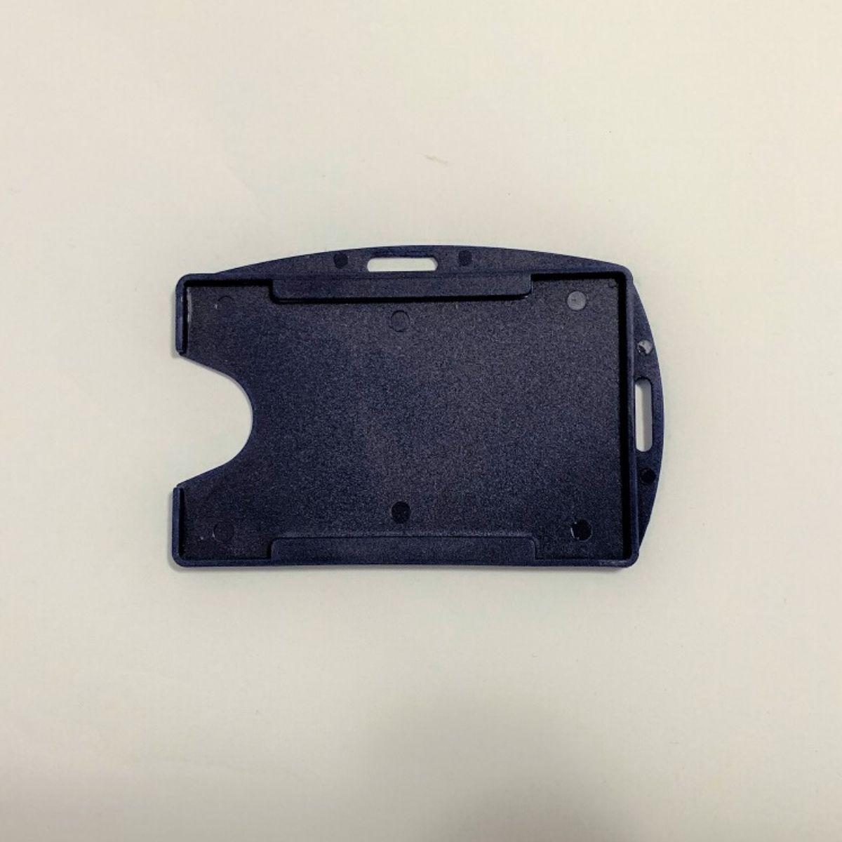 Porta Crachá Rígido M3 Conjugado Azul Marinho - Caixa com 100 unidades  - Click Suprimentos