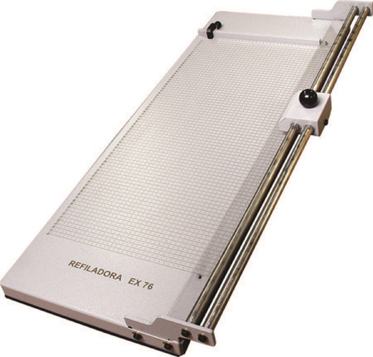 Refiladora de Papel em Aço 76cm até 5 Folhas Excentrix EX76  - Click Suprimentos