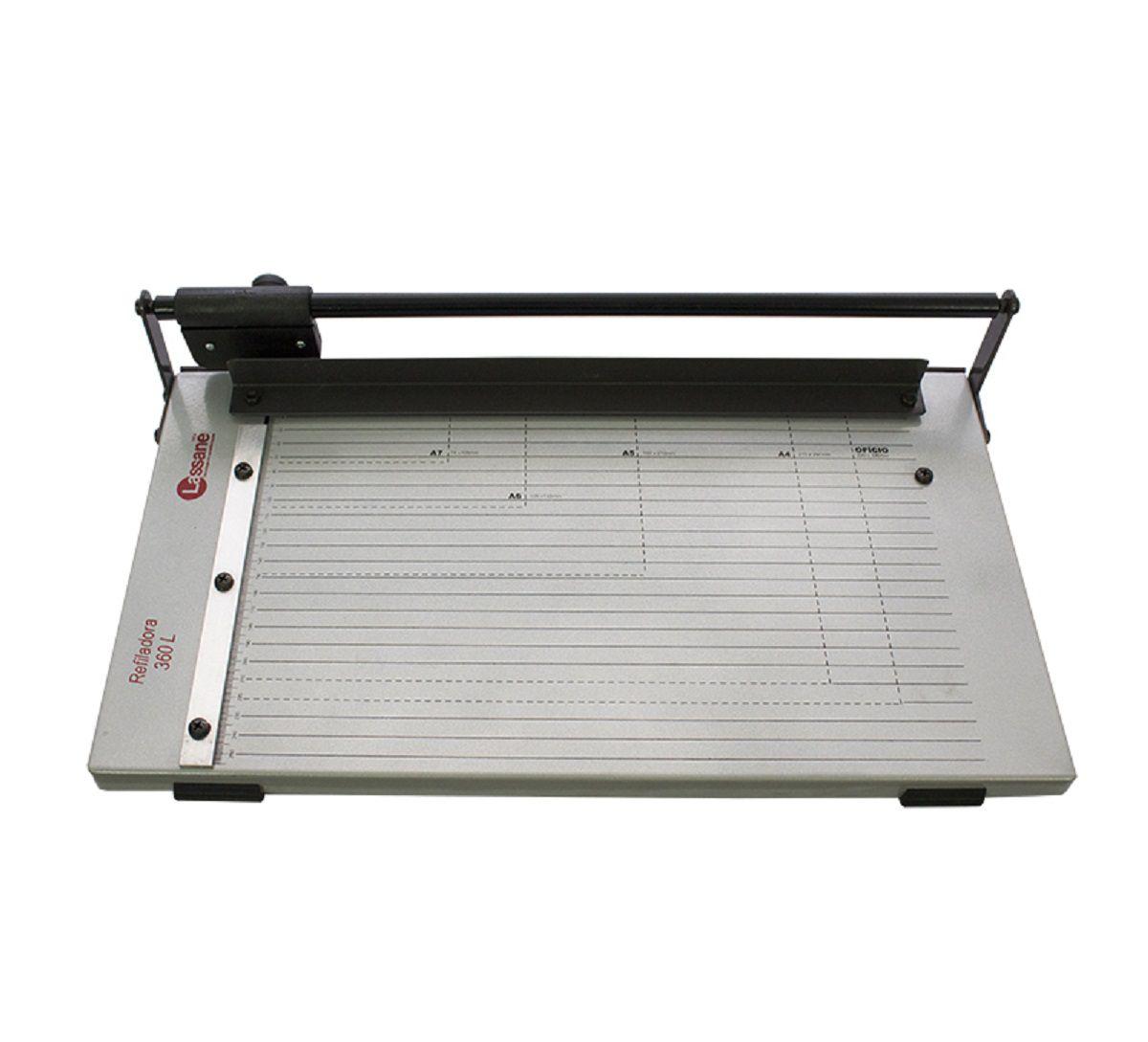 Refiladora de Papel Oficio 36cm até 5 Folhas Lassane 360L  - Click Suprimentos