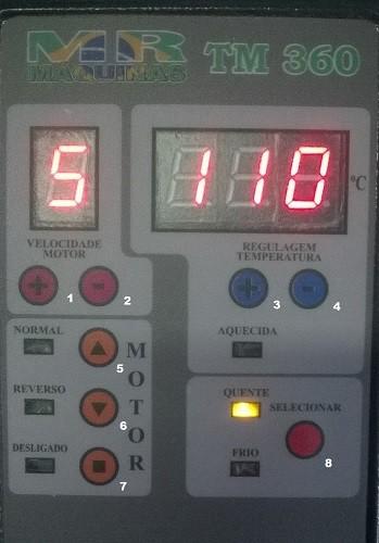 Termolaminadora Multiuso Lassane TM360 220v  - Click Suprimentos