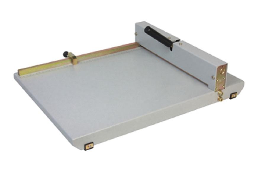 Vincadeira de Papel Manual em Aço Oficio 36cm até 8 Folhas Excentrix  - Click Suprimentos
