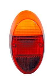 Lente Lanterna Traseira Fusca 1200 1300 Bicolor