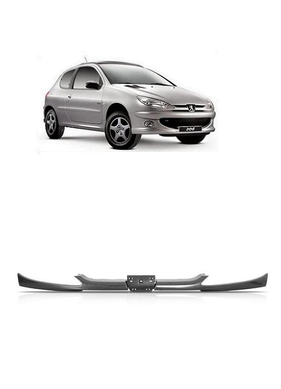 Bigode da Grade Frontal do Radiador Peugeot 206 1999 a 2011