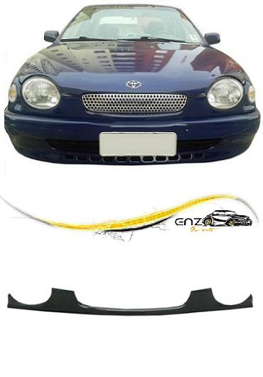 Bigode Spoiler Parachoque Dianteiro Corolla Europeu 1997 1998 1999