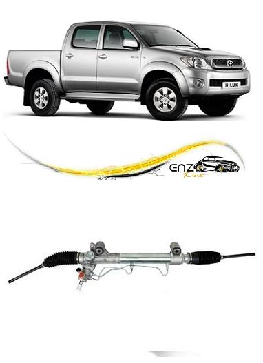 Caixa De Direção Hidráulica Hilux Pickup SRV e SW4 2.5 e 3.0 2005 2006 2007 2008 2009 2010 2011 2012 2013 2014