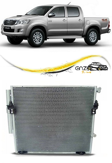 Condensador Hilux Motor 2.7 Flex 2012 2013 2014 2015