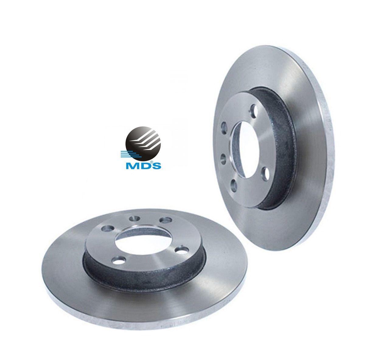 Disco de freio dianteiro ventilado peogeot 307 308 1.6 2.0 mds D695C