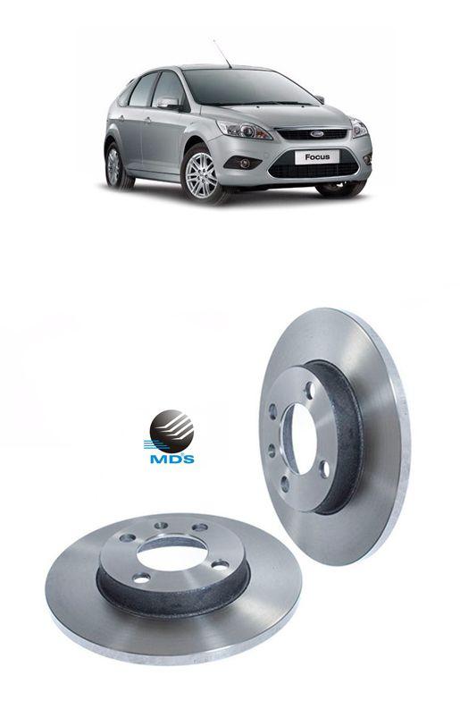 Disco de freio traseiro solido ford focus 1.6 2.0 Volvo s40 2.5 mds D36D