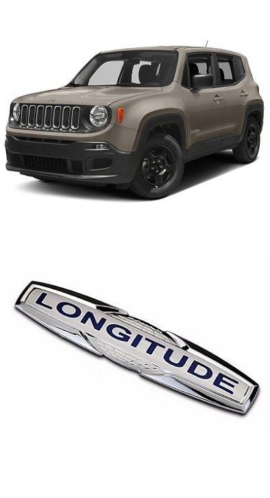 Emblema Jeep Renegade Longitude