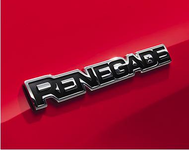 Emblema Lateral Jeep Renegade Cromado Original