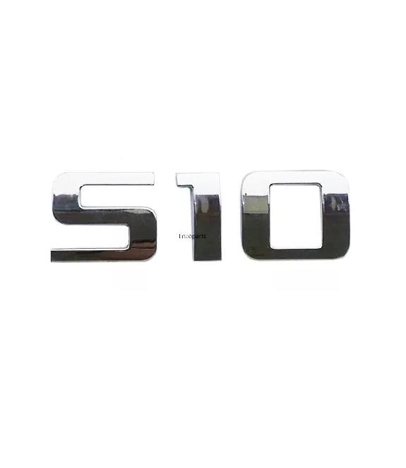 Emblema Letreiro da Tampa Traseira S10 2012 2013 2014 2015 2016 Original