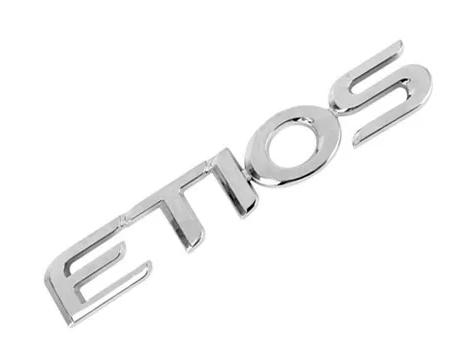 Emblema Letreiro Traseiro Toyota Etios