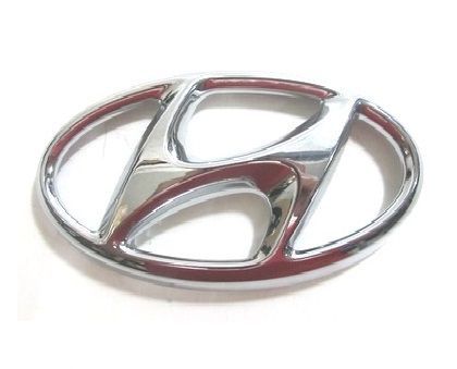 Emblema Logotipo Hyundai HB20 HB20S HB20X 2012 2013 2014 2015 Original