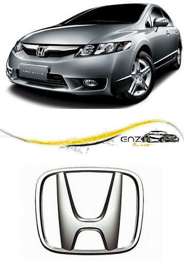 Emblema Logotipo New Civic 2009 a 2011 New Fit 2009 a 2014 Original