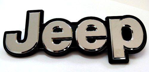 Emblema Traseiro Jeep Renegade Cromado