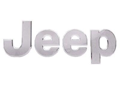 Emblema Traseiro Jeep Renegade Todo Cromado