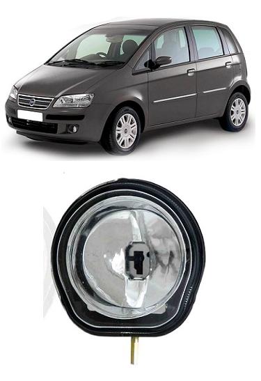 Farol de Milha Fiat Idea 2006 2007 2008 2009 2010