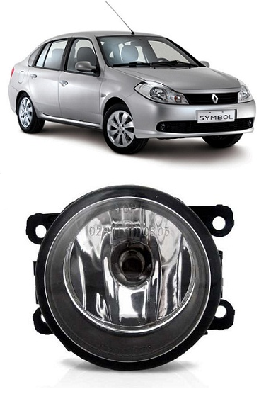Farol de Milha Renault Symbol 2009 2010 2011 2012