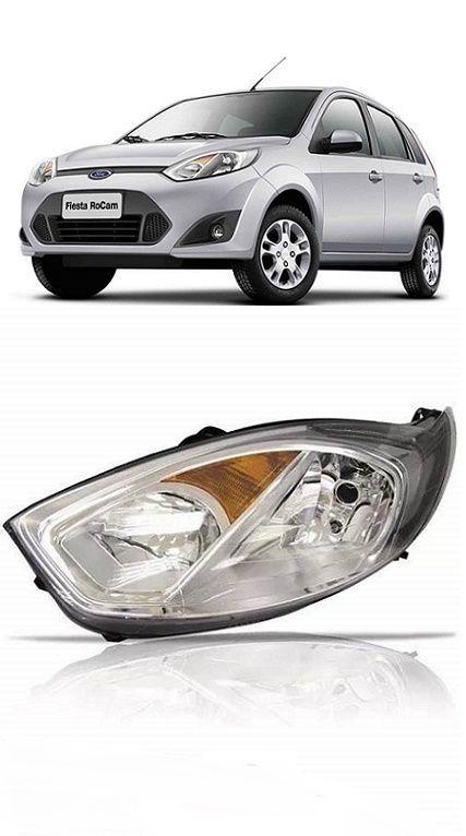 Farol Ford Fiesta 2011 2012 2013 2014