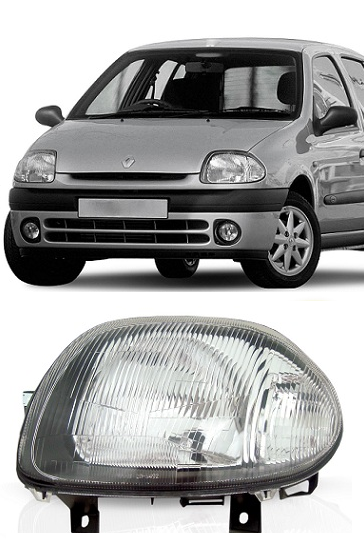 Farol Renault Clio 2000 2001 2002