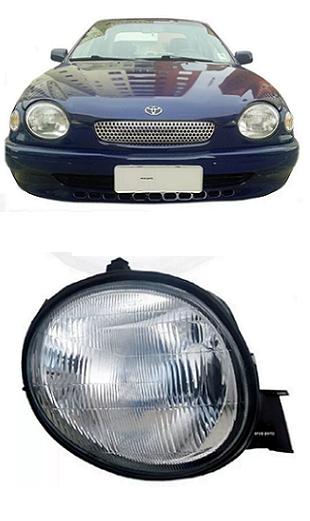Farol Toyota Corolla Europeu 1997 1998 1999