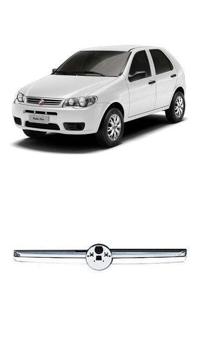 Friso da Grade Frontal Fiat Palio Siena Strada Economy 2010 2011 2012 2013 Cromado