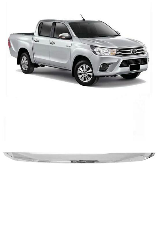 Friso do Capo Toyota Hilux 2016 2017 2018