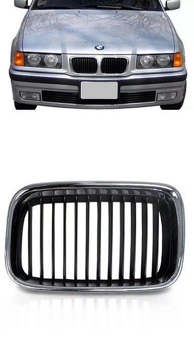 Grade Frontal BMW Serie 3 1992 1993 1994 1995 1996 Cromada