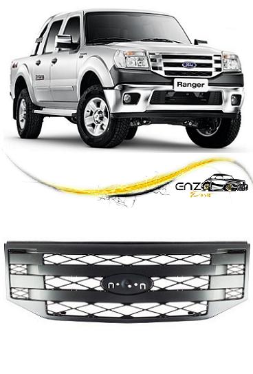 Grade Frontal Dianteira Ford Ranger 2010 2011 2012 Cinza