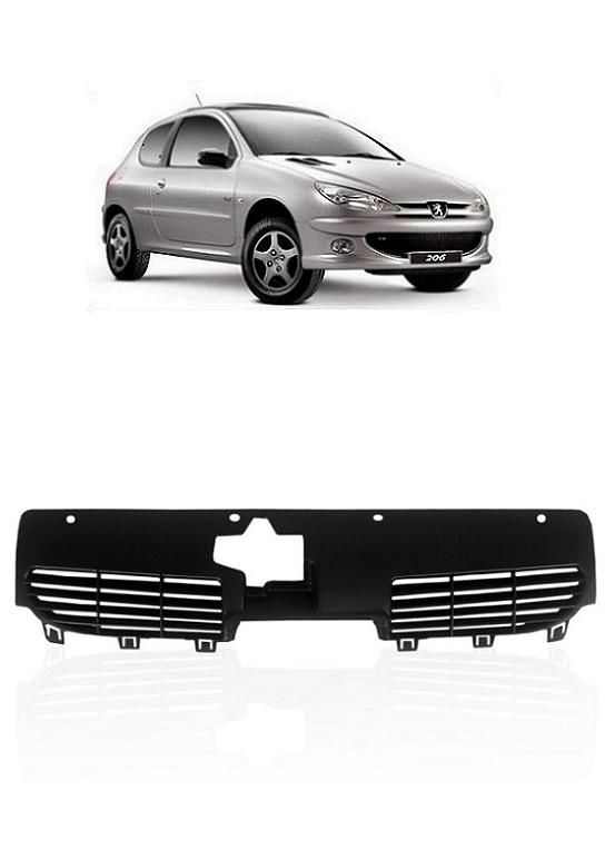 Grade Frontal do Radiador Peugeot 206 1999 a 2011