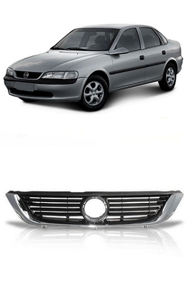 Grade Frontal Vectra 1997 1998 1999 2000 2001 2002 2003 2004 2005 Com Moldura Cromada