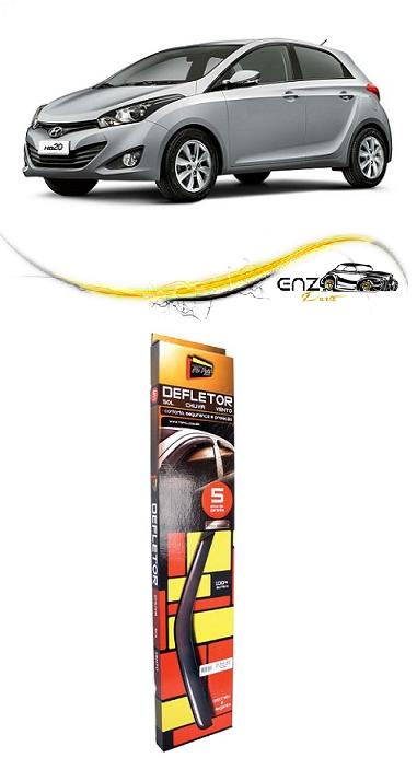 Jogo Defletor Calha de Chuva Hyundai HB20 2012 2013 4 Portas