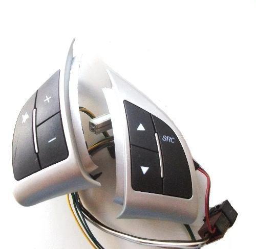 Kit Botão do Volante Comando de Som Palio Grand Siena Linea Idea Original