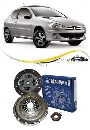 Kit Embreagem Peugeot 206 2004 a 2011 1.4 8V