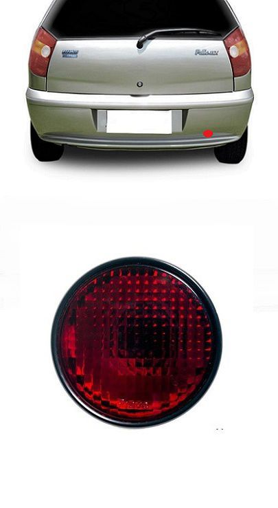 Lanterna de Neblina Fiat Palio 1996 1997 1998 1999 2000