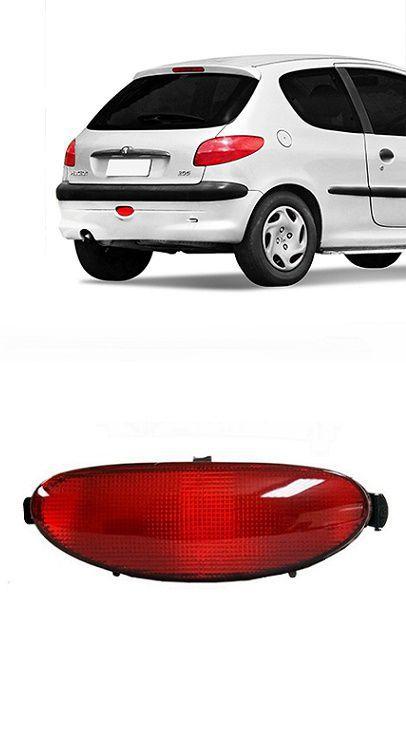 Lanterna de Neblina Traseira Peugeot 206 1999 a 2011