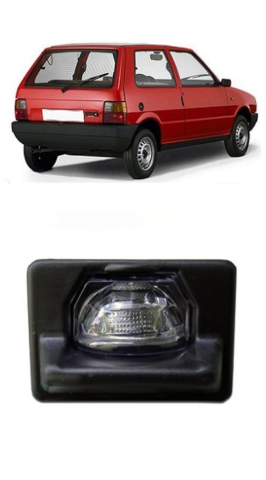 Lanterna de Placa Fiat Uno 1985 a 2001