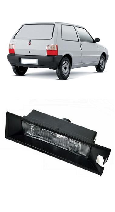 Lanterna de Placa Fiat Uno 2004 2005 2006 2007 2008 2009 2010 2011