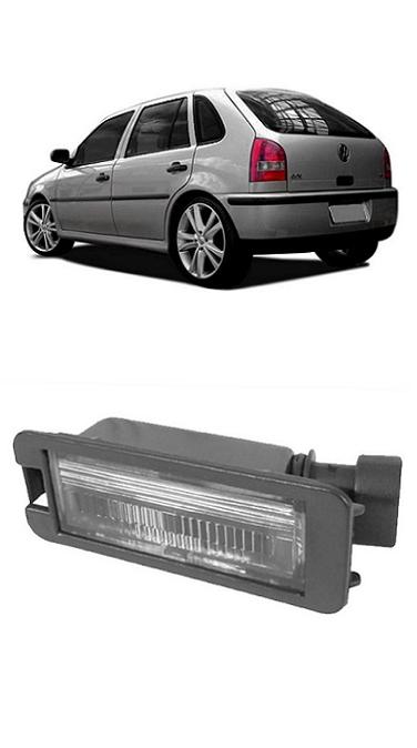 Lanterna de Placa Gol G3 2000 2001 2002 2003 2004 2005