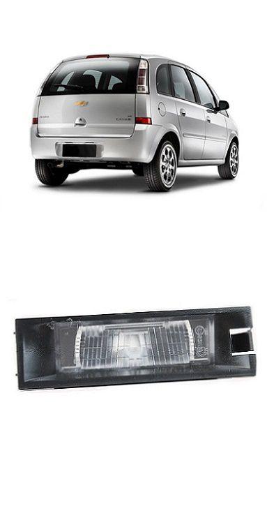 Lanterna de Placa Meriva 2003 2004 2005 2006 2007 2008 2009 2010 2011