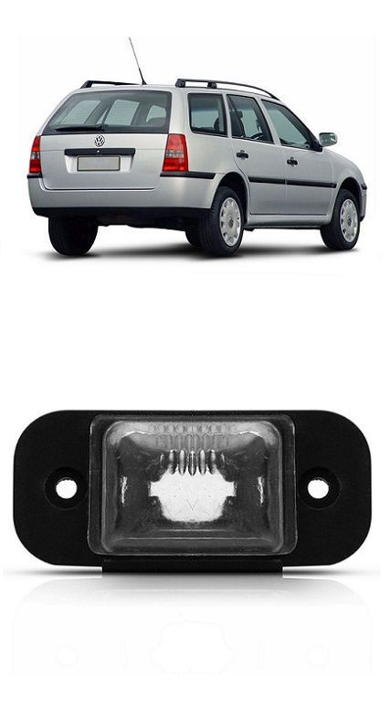 Lanterna de Placa Parati G3 2000 2001 2002 2003 2004 2005